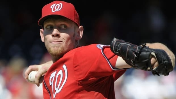Nationals starting pitcher Stephen Strasburg has won each of his last four starts.