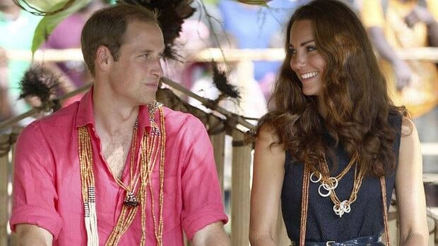 The Duke and Duchess of Cambridge appear relaxed during their nine-day Diamond Jubilee tour of Southeast Asia and the South Pacific, even as a legal battle to contain topless photos of Kate begins in France.