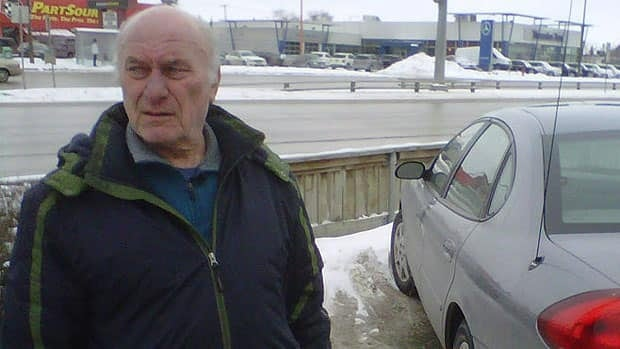Laszlo Piszker and his wife, Margaret, were pulled over by two city police officers in the 2500-block of Portage Avenue.