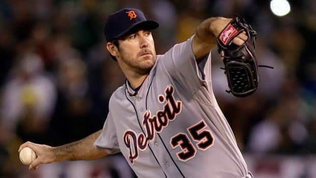Justin Verlander, seen delivering Thursday, allowed just one earned run in 16 innings for Detroit in the series.