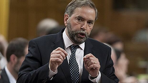 NDP Leader Tom Mulcair had his first opportunity to ask the government about changes to the Employment Insurance system announced last week, as MPs returned to the House of Commons Monday after a break week.