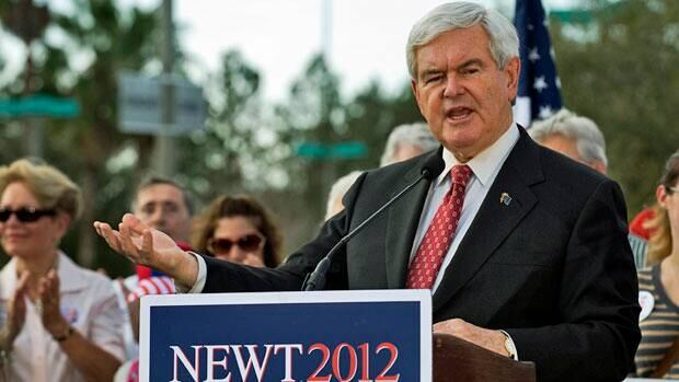 Presidential hopeful Newt Gingrich has seized the momentum in the race for the Republican nomination after winning the South Carolina primary.