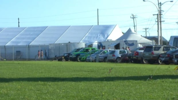The International Shellfish Festival is the first event to be held at the new event grounds in Charlottetown.