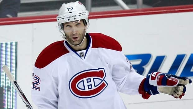 Canadiens forward Erik Cole has 23 goals and 24 assists in his first season with Montreal.