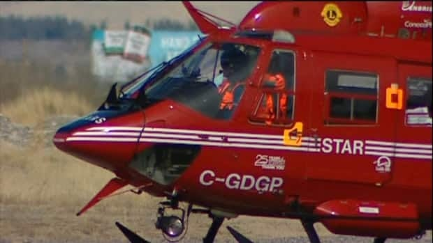 The pilot of a helicopter that crashed near Canmore, Alta., died from his injuries while being airlifted to hospital Friday.