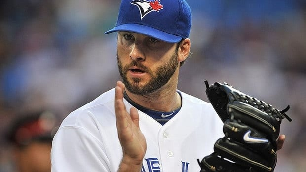 Brandon Morrow earned his eighth win for the Blue Jays on Friday, limiting the visiting Rays to one run over 6 2/3 innings while striking out five.