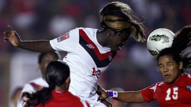 Christabel Oduro, left, and Team Canada kick off their quest for a Under-20 Women's World Cup title on Aug. 20 against Argentina on CBC, CBCSports.ca