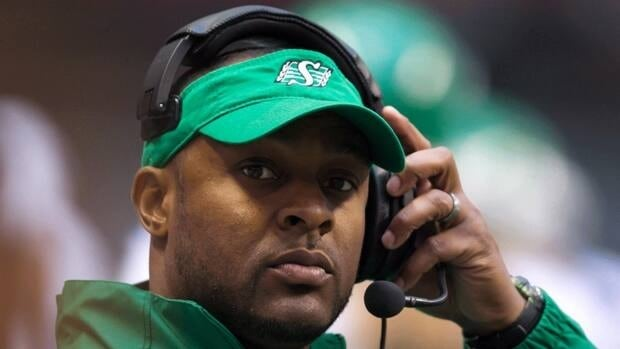 Saskatchewan Roughriders' head coach Corey Chamblin knows his team faces a daunting task against the Stampeders in Calgary on Sunday.
