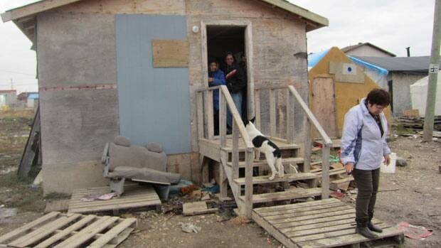 Having a diamond mine on Attawapiskat's traditional territory hasn't helped that community with its housing crisis, or provided a proper school for the children there.