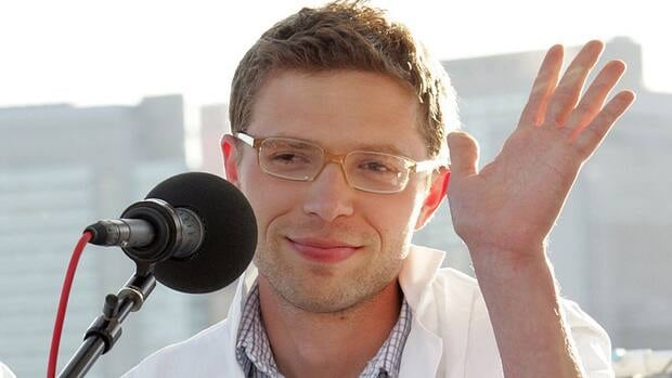 Writer Jonah Lehrer, seen at a 2008 World Science festival panel in New York, has resigned from The New Yorker amid the scandal.