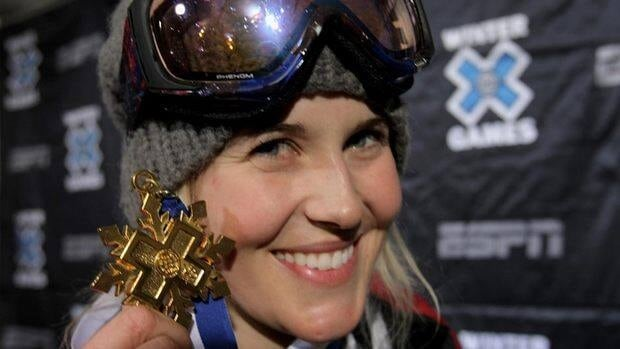 Sarah Burke was considered the foremost pioneer in her sport of superpipe skiing.