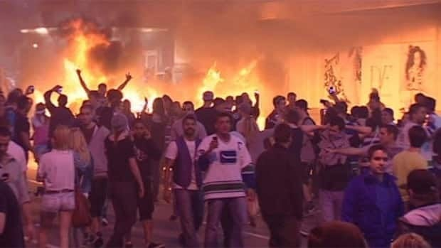 The riot broke out after the Vancouver Canucks lost to the Boston Bruins in Game Seven of the 2011 Stanley Cup final.