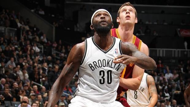 Defensive-minded Reggie Evans of the Brooklyn Nets has become the first player fined by the NBA for flopping under their new rules.