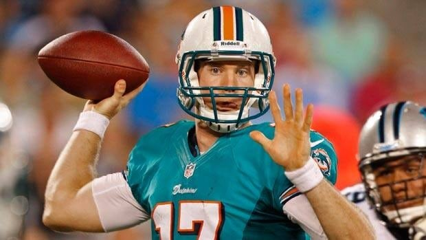 Ryan Tannehill played collegiately at Texas A & M, where new Dolphins offensive coordinator Mike Sherman was his coach.