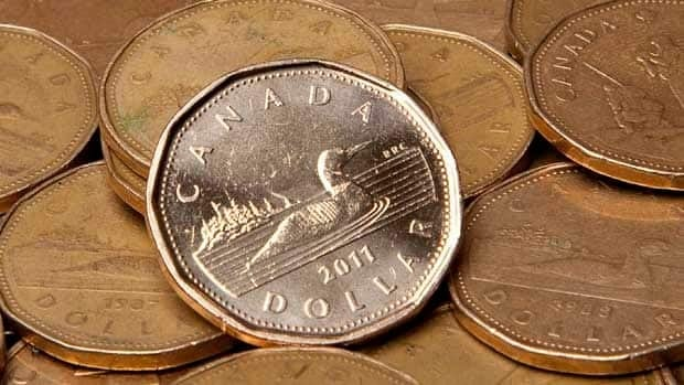 The Canadian dollar on touched parity with the U.S. dollar for the first time since May.
