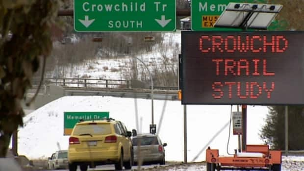 City council is revisiting a plan to improve traffic flow on Crowchild Trail.