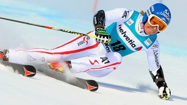 World slalom champion Marlies Schild of Austria tore a knee ligament on Thursday in training at the World Cup slalom in Are, Sweden. She will miss the balance of the season.