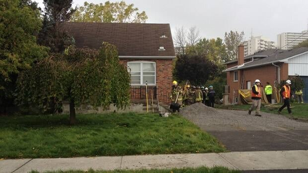 A 56-year-old man was killed while working on a project on a residential property in Mississauga on Monday, Oct. 15, 2012.