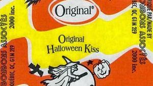 Original Halloween Kiss candy recall