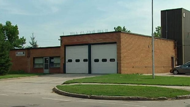 This fire hall on Grosvenor Avenue was part of a secretive land swap involving Shindico, a local development company, and Reid Douglas, who was the city's fire chief at the time. (CBC)