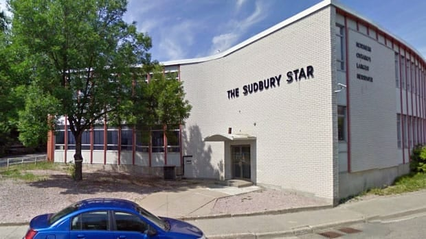 The building that houses the Sudbury Star on MacKenzie Street in Sudbury has been sold for $1.3 million to a numbered company.