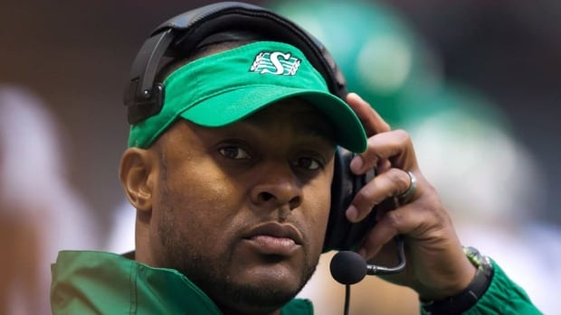 Corey Chamblin is one of three CFL coaches in the running for coach of the year.