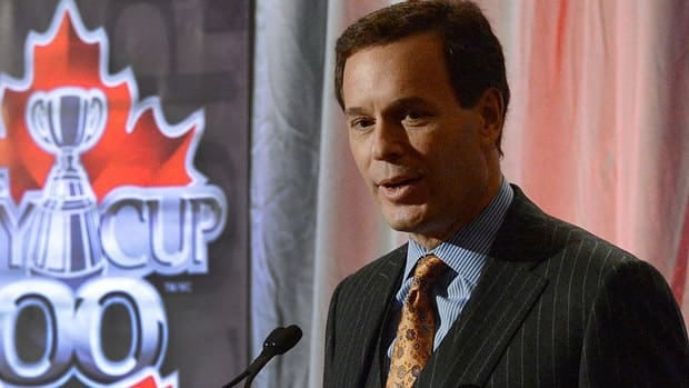 CFL commissioner Mark Cohon talks to the media Friday at the annual state-of-the-league address as part of Grey Cup week. He says six of the league's eight teams either broken even or reported a profit this season.
