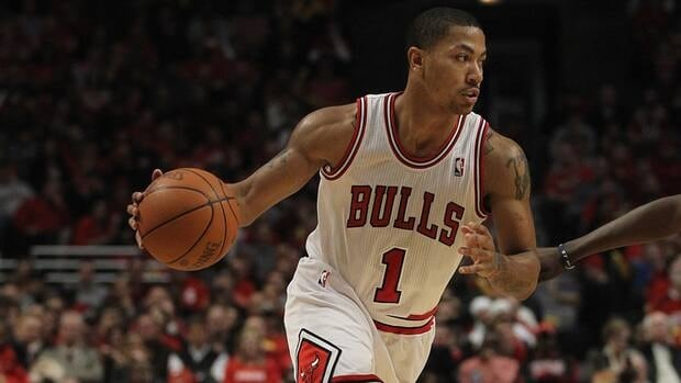 Chicago Bulls guard Derrick Rose averaged 21.8 points and 7.9 assists but missed 27 games this season because of various injuries.