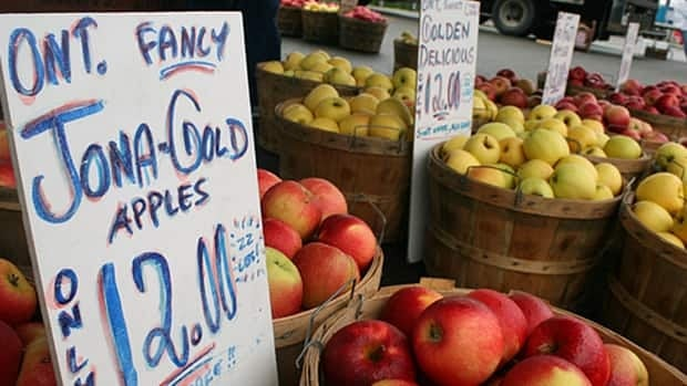 Ontario's apple crop has suffered this year.