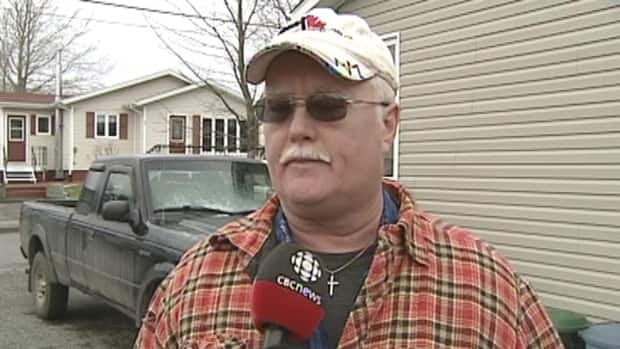 Former paper mill worker Kevin Whiffen said he's upset that AbitibiBowater doesn't have to foot the bill for the old mill.