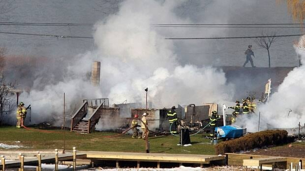 A gunman ambushed four volunteer firefighters responding to an intense house fire Monday morning outside Rochester, N.Y., killing two as well as himself.  Two other firefighters are recovering from the attack.