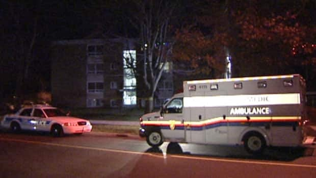 Ottawa police and paramedics responded to the scene of Ottawa's seventh 2012 homicide early Thursday morning at 1189 Meadowlands Dr.