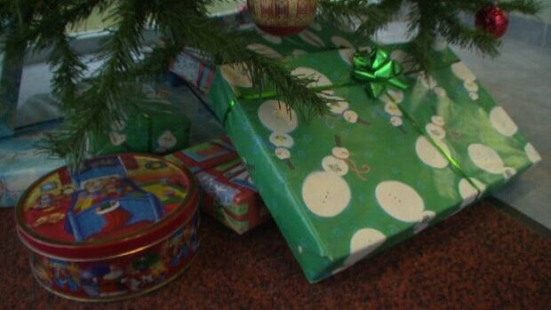 Christmas wrap, which is good for compost, can get mixed in with plastic ribbons and bows, which should be going to waste.