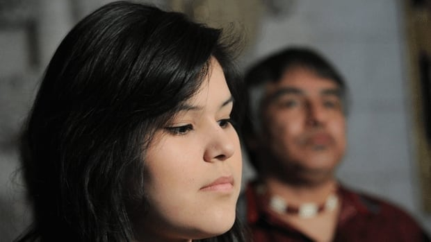 Chelsea Edwards, spokesperson for the Shannen's Dream initiative to bring provincial standards to reserves, say the $275 million committed in the federal budget toward improving First Nation education is far from enough.