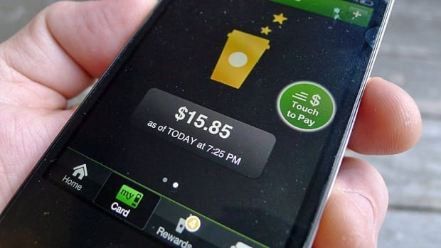 Mobile payment options such as the Starbucks payment app are only an interim step toward full development of e-wallets.