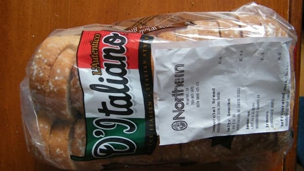 A loaf of bread in Rigolet, Labrador, for $7.09, this April.