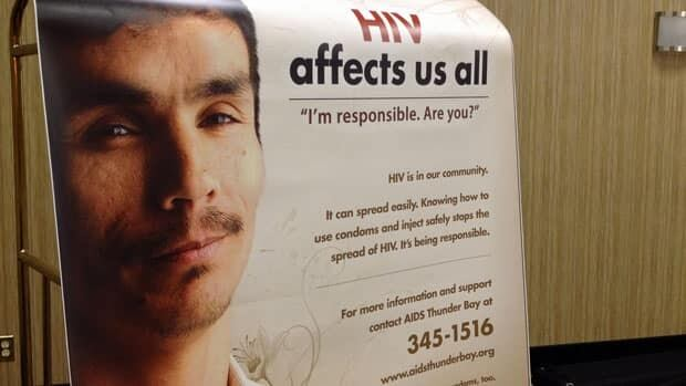 Lac Seul First Nation resident Rene Boucher now appears on posters and billboards as he attempts to get his message out that First Nations communities need HIV/AIDS support systems in place so people who have the disease don't have to leave their homes for treatment.