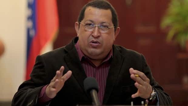 Venezuela's President Hugo Chavez speaks during the Council of Ministers in Ciudad Bolivar in the southern state of Bolivar on Feb. 15. Chavez said on state television on Tuesday that doctors in Cuba have found a new lesion in the area where cancer was detected last year and that he will face a new operation.