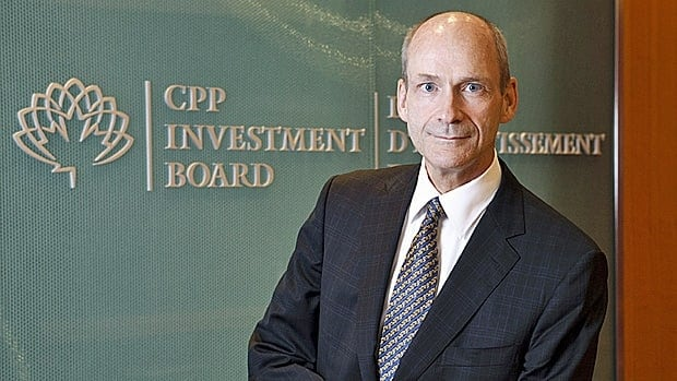 Canadian Pension Plan Investment Board CEO David Denison. The CPPIB, which manages the country's national pension fund, said Tuesday it has signed a $1.8-billion US joint venture deal with shopping mall owner Westfield Group.