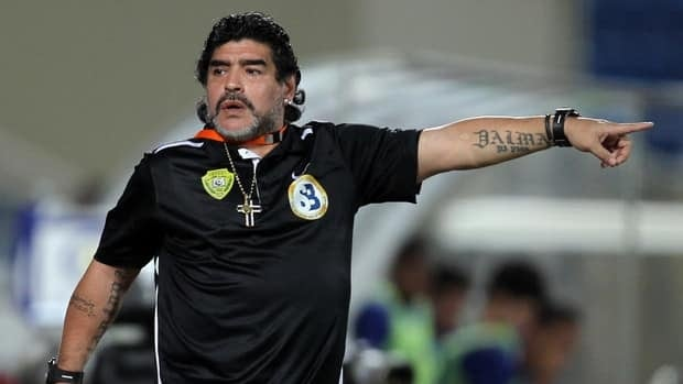 Argentine football legend Diego Maradona joined Al Wasl following his firing as the Argentina national team coach.
