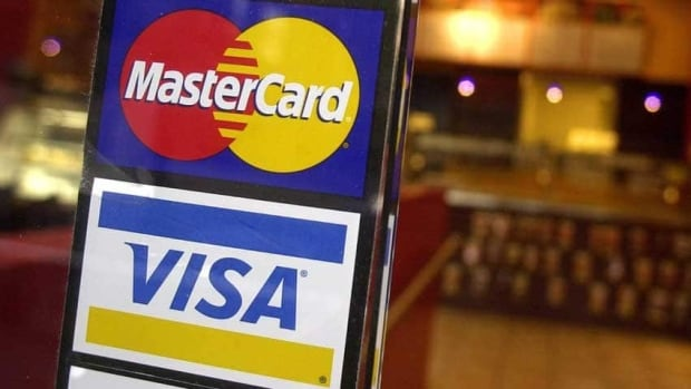 Visa and MasterCard are being investigated by a tribunal over their fees and two rules in particular affecting merchants that the competition commissioner wants knocked down.
