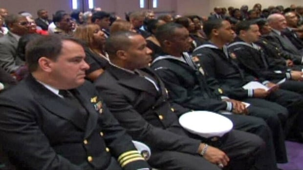 A funeral service was held for Lanier Phillips in Lithonia, Ga., on Saturday.