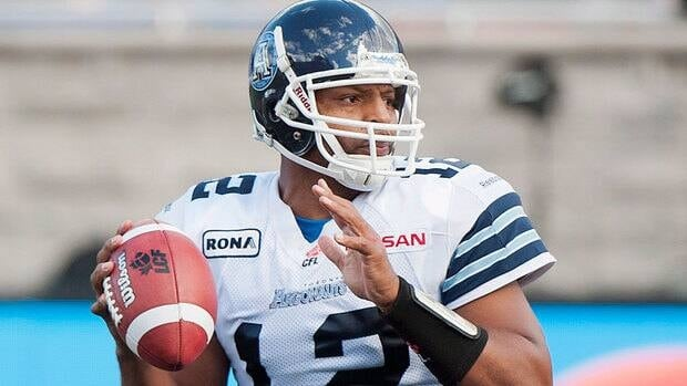 Jarious Jackson, pictured, completed 15 of 31 passes for 198 yards, an interception and no touchdowns last week in relief of Ricky Ray.