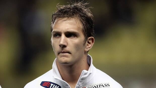 Domenico Criscito before a friendly match between Italy and Cameroon on March 03, 2010 at Louis II stadium in Monaco.