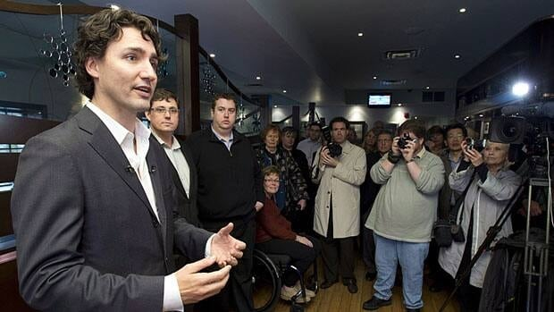 Liberal leadership candidate Justin Trudeau, seen speaking to supporters in Newmarket, Ont., last week, says he is proud to be keynote speaker at an Islamic convention in Toronto later this month.