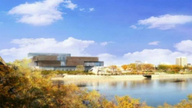 An image showing what the art gallery in Sasktoon is expected to look like.