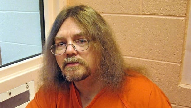 Ronald Smith, the only Canadian on death row in the United States, is shown in this June 2008 photo. A MOntana judge just ruled that the state's method of execution unconstitutional.