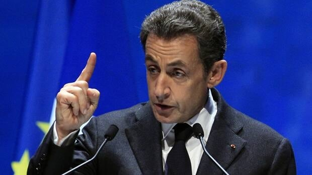 France's President Nicolas Sarkozy proposed a 0.1 per cent tax on financial transactions Sunday.