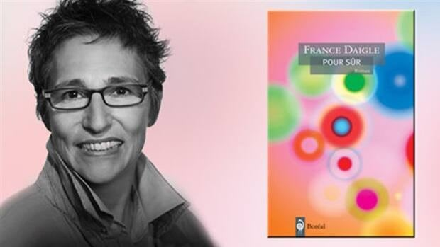 Moncton author France Daigle.