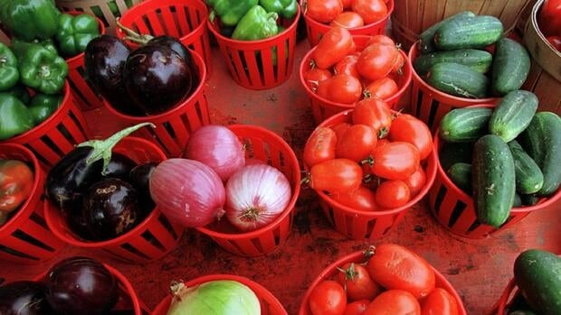 Community Supported Agriculture is a program where grocery shoppers invest in a farm's crop in exchange for fresh products delivered on a regular basis.